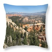 Bryce Canyon Overlook Throw Pillow