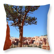 Bryce Canyon Pine Throw Pillow