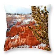 Bryce Canyon Pine Side Throw Pillow