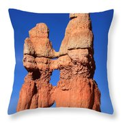 Bryce Canyon Rock Formation Throw Pillow