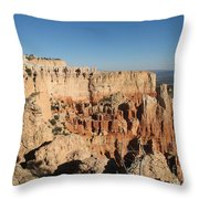 Bryce Canyon Scenic View Throw Pillow