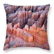 Bryce Canyon Sun Rising Throw Pillow
