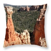 Bryce Canyon - Thors Hammer Throw Pillow