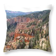 Bryce Canyon View Throw Pillow