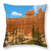 Bryce Canyon Walls Throw Pillow