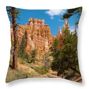 Bryce Hills 2 Throw Pillow