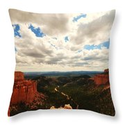 Bryce Horizon Throw Pillow
