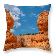 Bryce Spirals 3 Throw Pillow