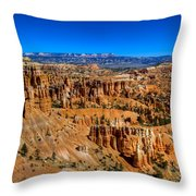 Bryce's Glory Throw Pillow