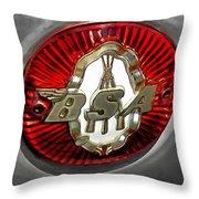 Bsa Badge Throw Pillow