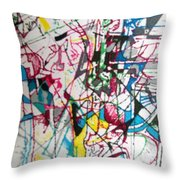 bSeter Elyion 17 Throw Pillow