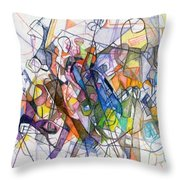 bSeter Elyion 19 Throw Pillow