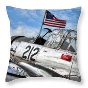 Bt-13 Throw Pillow
