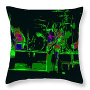 Bto And Colors Fly In Spokane 1976 Throw Pillow