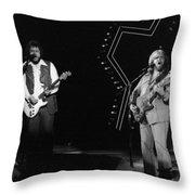 Bto In Spokane In 1976 Throw Pillow