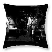 Bto Rock Spokane In 1976 Art Throw Pillow