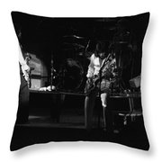 Bto Rock Spokane In 1976 Throw Pillow