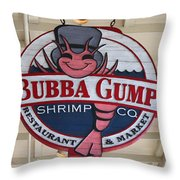 Bubba Gump Shrimp Co. Throw Pillow