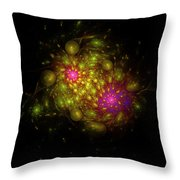 Bubble Core  Throw Pillow