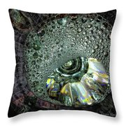 Bubble Trouble Throw Pillow