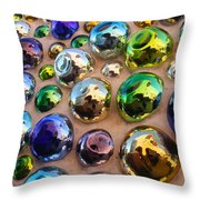 Bubble Up Throw Pillow