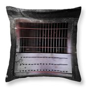 Bubbledust Throw Pillow