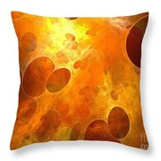 Bubbles 137-02-13 Marucii Throw Pillow