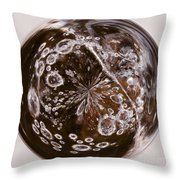 Bubbles Within Bubble Throw Pillow by Anne Gilbert