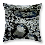 Bubblescape Throw Pillow