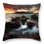 Bubbling Cauldron Throw Pillow