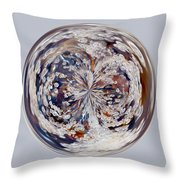 Bubbly Orb Throw Pillow