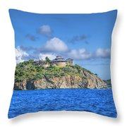 Buck Island Throw Pillow