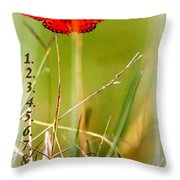 Bucket List - Blank List Throw Pillow