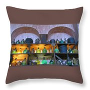 Buckets And Jugs Throw Pillow