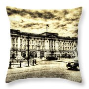 Buckingham Palace Vintage Throw Pillow