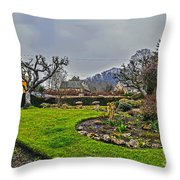 Buckland Garden Throw Pillow