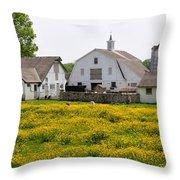 Bucks County Spring Throw Pillow