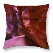 Buckskin Gulch 15 Throw Pillow