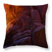 Buckskin Gulch 17 Throw Pillow