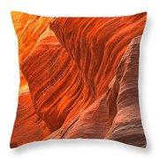 Buckskin Shades Of Red Throw Pillow