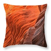 Buckskin Walls Of Fire Throw Pillow