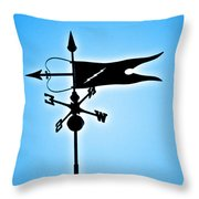 Bucksport Weathervane Throw Pillow