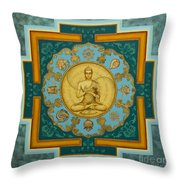 Buddha. Jewels Of Dharma Throw Pillow