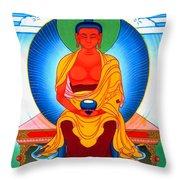 Buddha Of Infinite Light 39 Throw Pillow