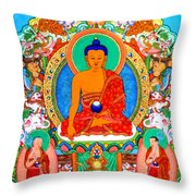 Buddha Shakyamuni 1 Throw Pillow