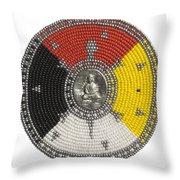 Buddha Turtle Throw Pillow
