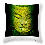 Buddhas Mind II Throw Pillow