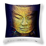 Buddhas Mind Throw Pillow