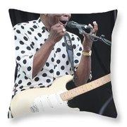 Buddy Guy Throw Pillow