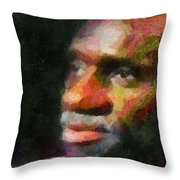 Buddy In Thought Throw Pillow